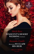 Innocents Desert Wedding Contract